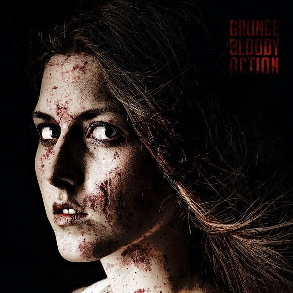 Grunge Bloody Photoshop Action