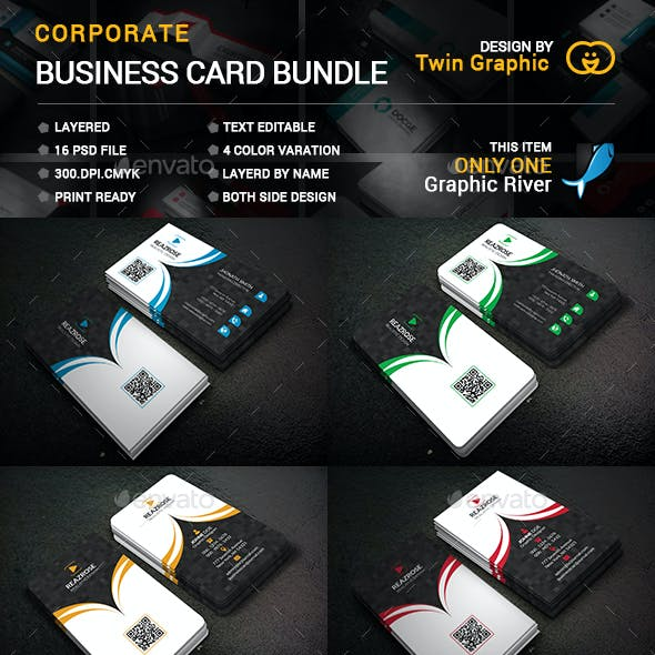 Corprrate Business Card bundle.