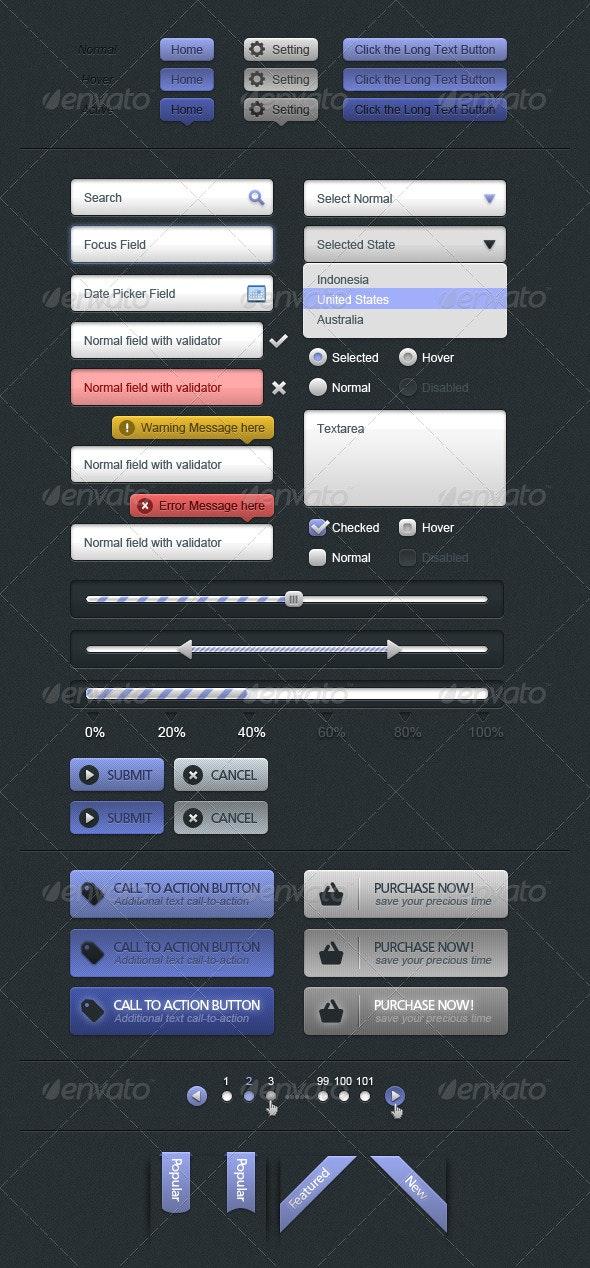 UI Elements - Miscellaneous Web Elements