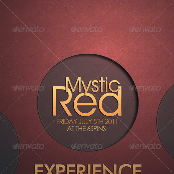 Mystic - Cool Flyer Template For Your Project