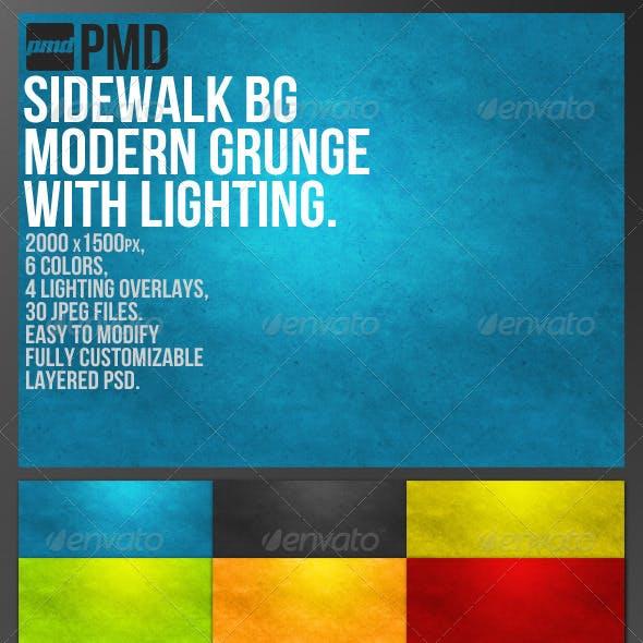 Sidewalk BG - Modern Grunge Background