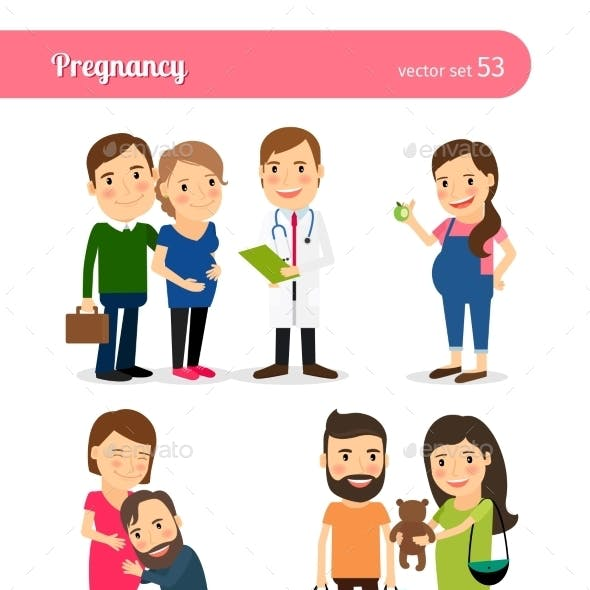 Pregnancy Healthy Eating and Seeing Doctor