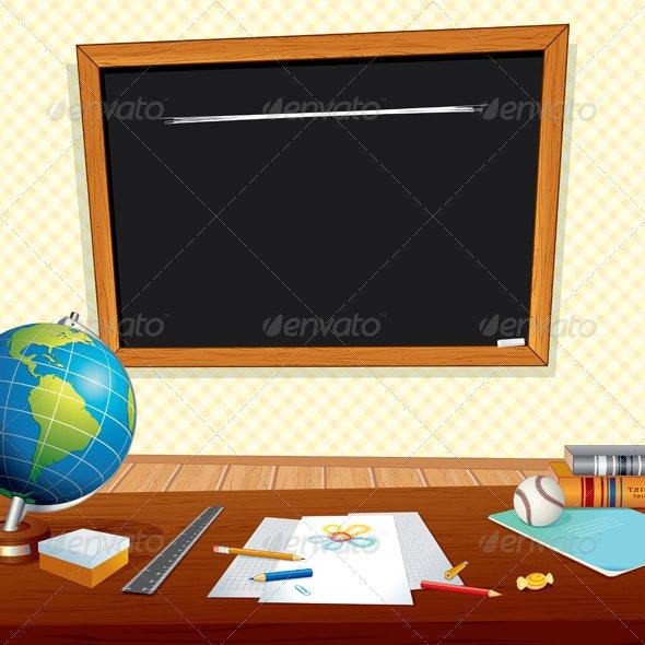 Classroom - Characters Vectors