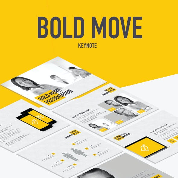 Bold Move Keynote Template
