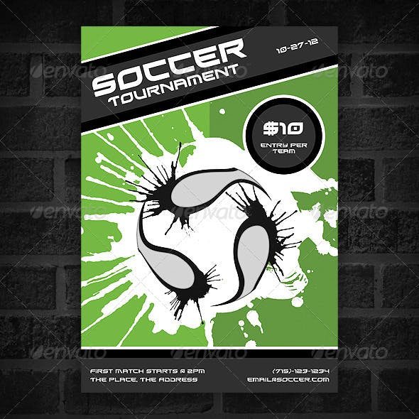 Soccer Tournament - Poster