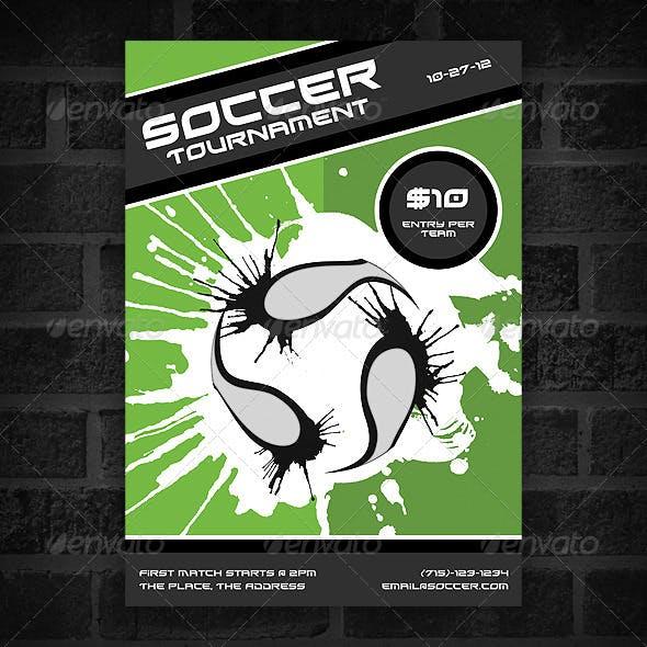 Soccer Tournament - Poster