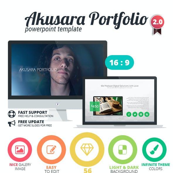 Akusara Portfolio Powerpoint Template