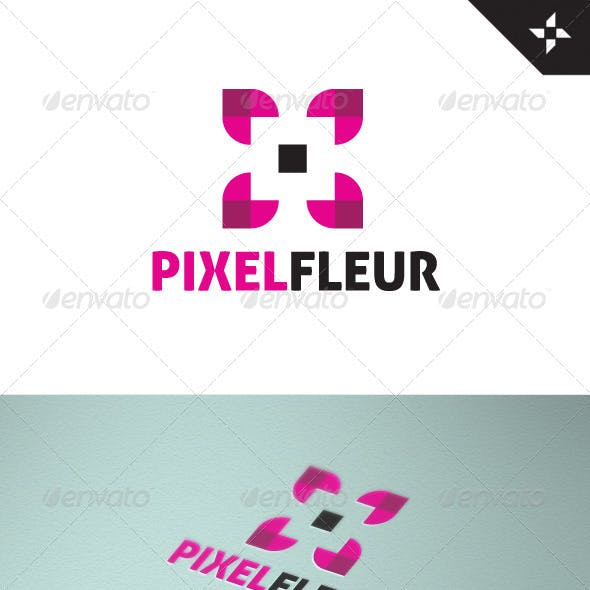 Pixel Fluer Logo