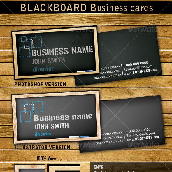 Blackboard Business Cards