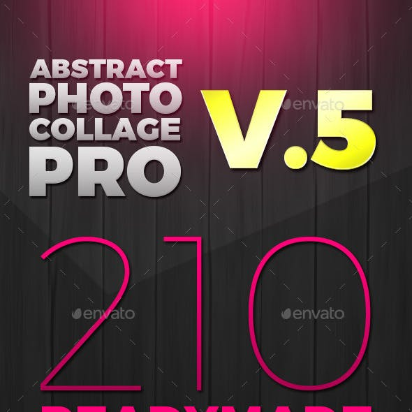 Abstract Photo Collage Pro v.5