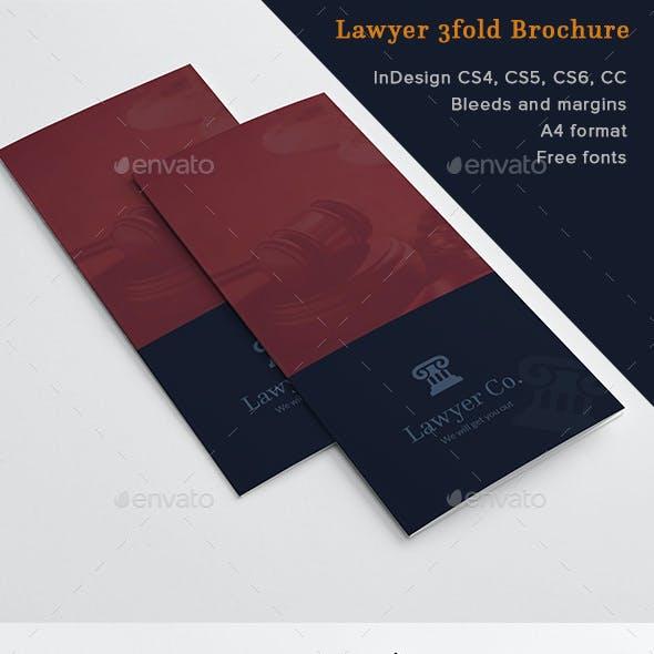 Lawyer 3fold Brochure