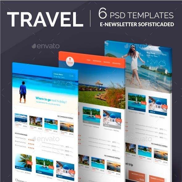 Travel E-newsletter Template
