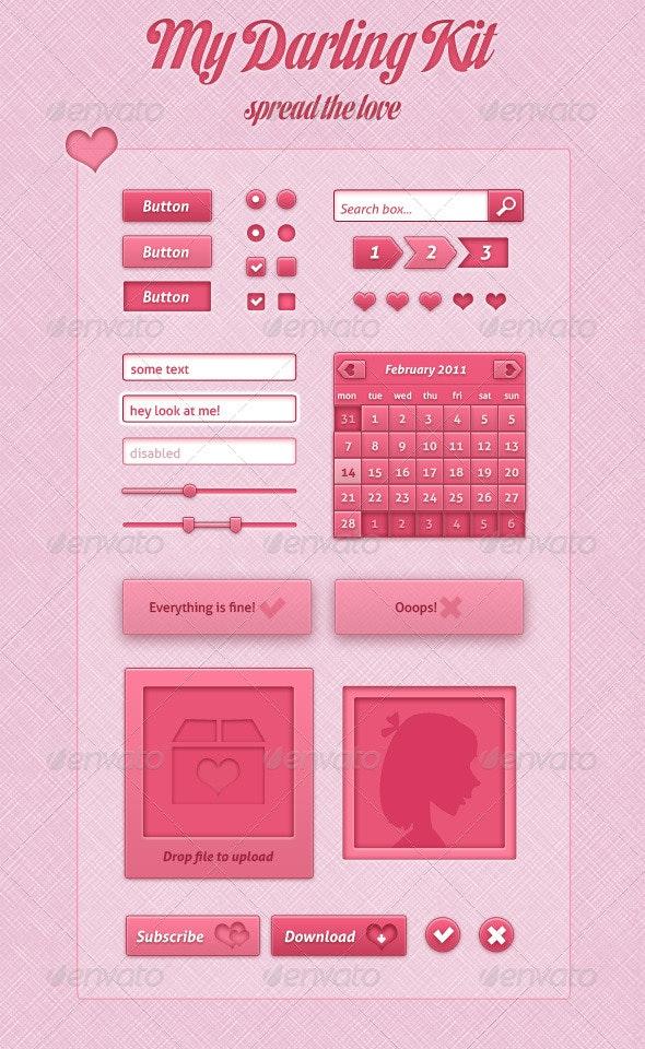 My Darling Web Kit - Web Elements
