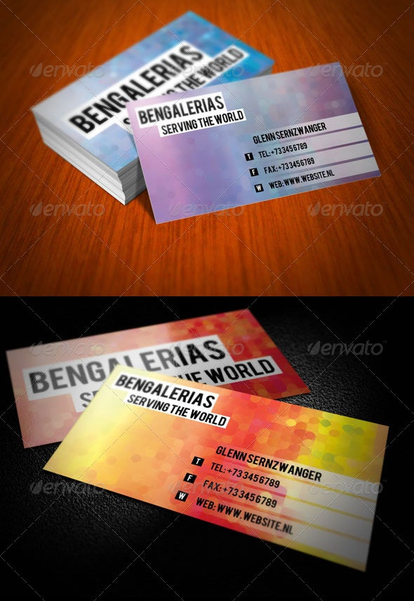 Fancy Business Card - Creative Business Cards