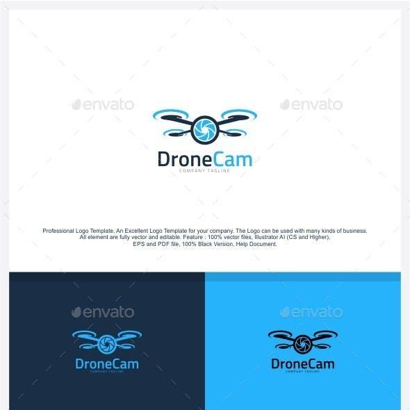 Drone Camera - Aerial Photo Logo