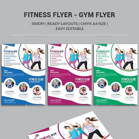 Fitness Flyer - Gym Flyer