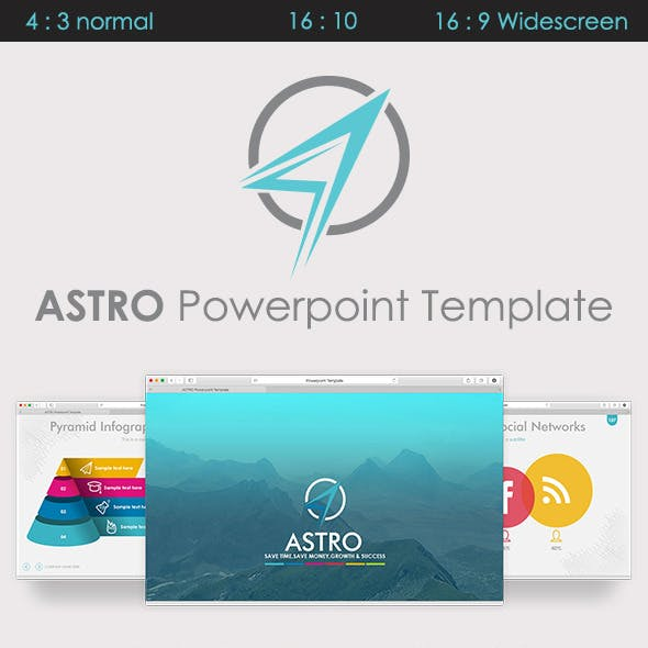 ASTRO - Powerpoint Template - Modern & Scalable