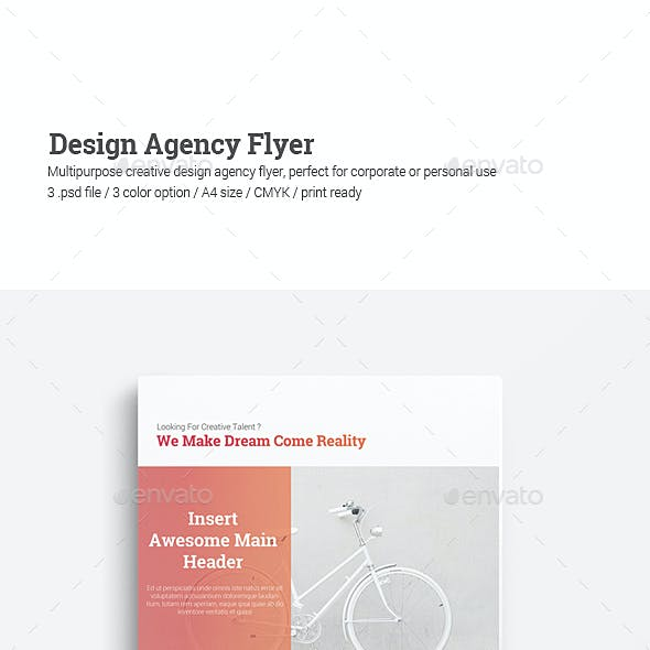 Design Agency Flyer