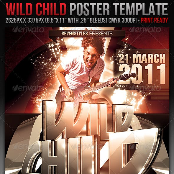 WildChild Poster/Flyer Template