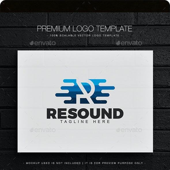 Resound - Letter R Logo