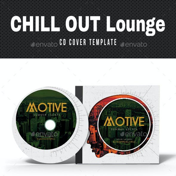 Chill Out Lounge CD Cover V03