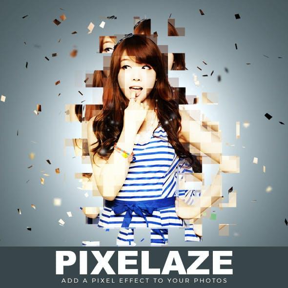 Pixlaze Photoshop Action
