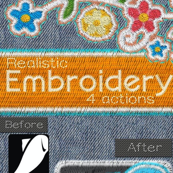 Embroidery and Sewing Photoshop Tool