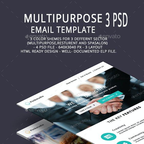 Multipurpose Email Template V8