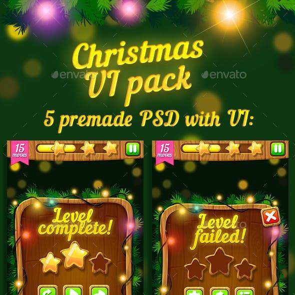 Christmas Game UI Pack