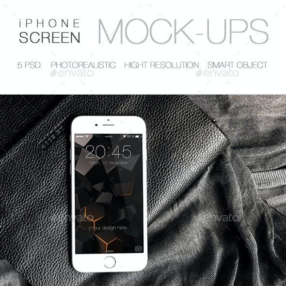 Photorealistic iPhone 6 Mock-Up