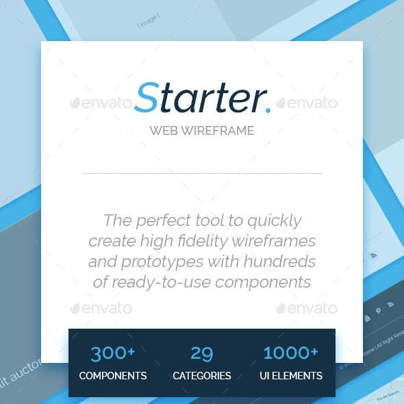 Starter - Web Wireframe Ui Kit