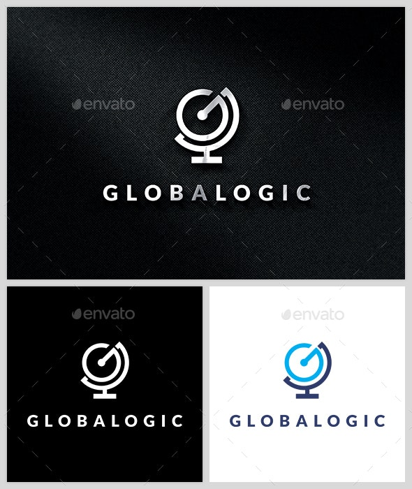 Global Logic - Logo Template - Letters Logo Templates