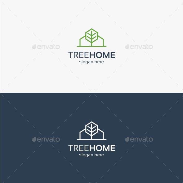 Tree Home - Logo Template