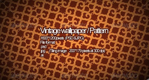 Vintage Wallpaper - Patterns Backgrounds