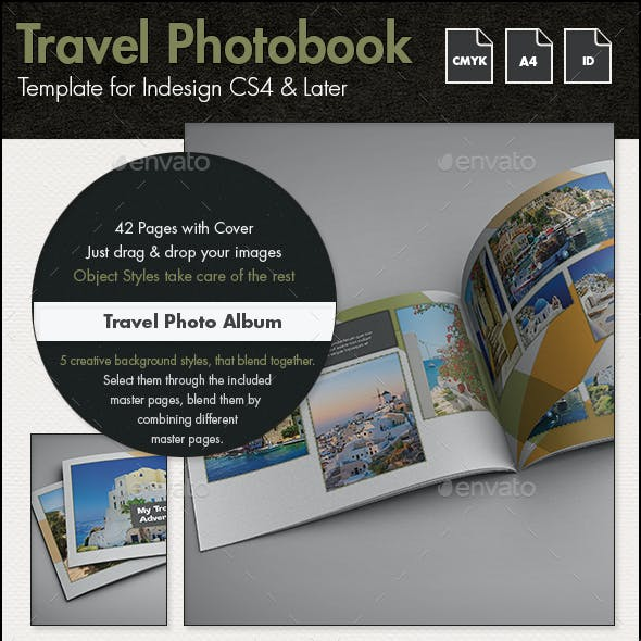 InDesign Photobook Graphics, Designs & Templates