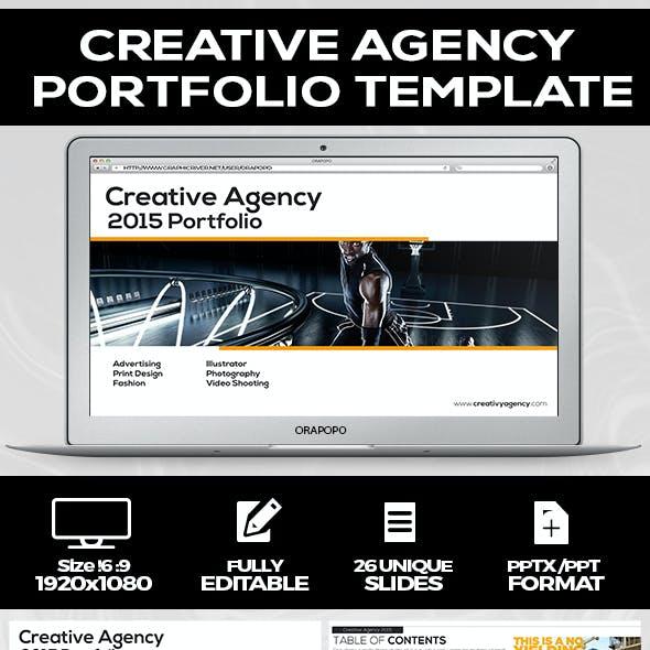 Creative Agency Portfolio Template