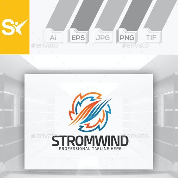 Storm Wind Logo