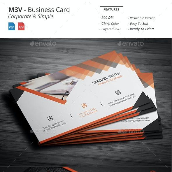 M3V - Business Card
