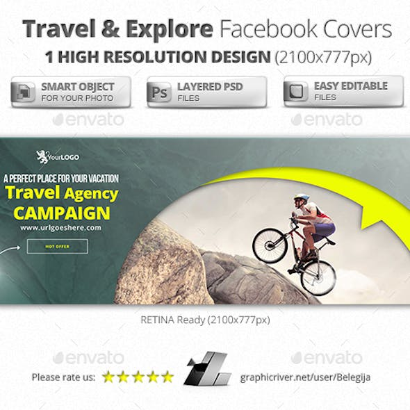 Travel & Explore Facebook Covers