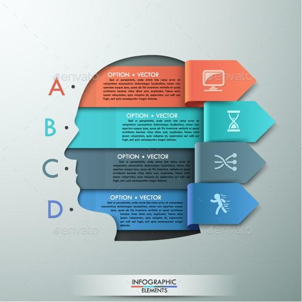 Modern Infographic Head Template