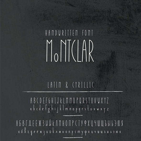 Montclar Font & Food Icons
