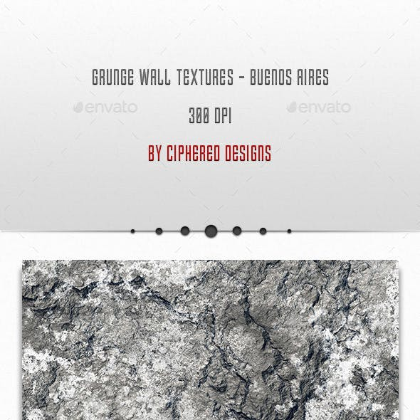 Grunge Wall Textures - Buenos Aires