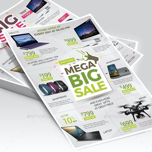 Sale Promotion Flyer