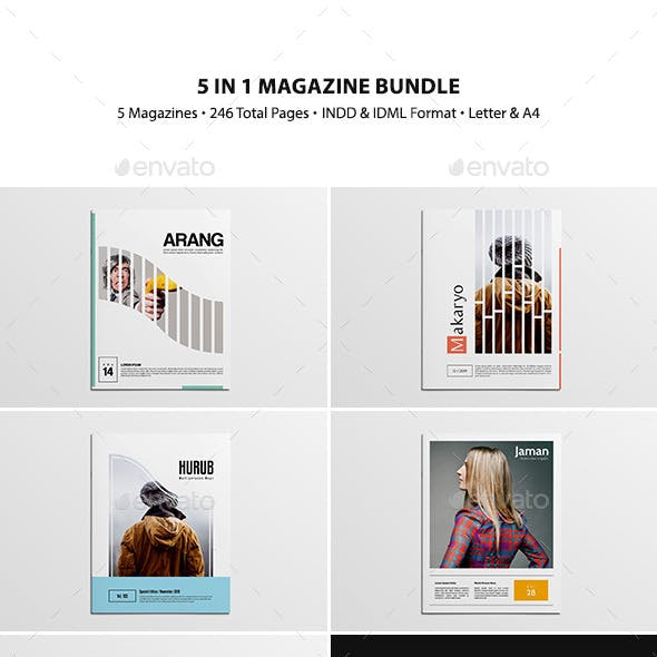 5 in 1 Magazine Bundle