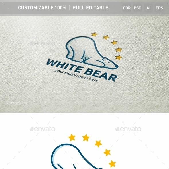 White Bear Logo Template