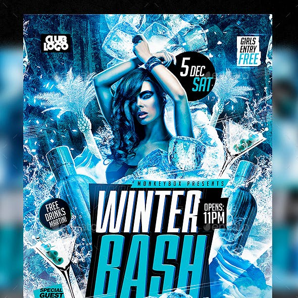 Flyer Winter Bash Party