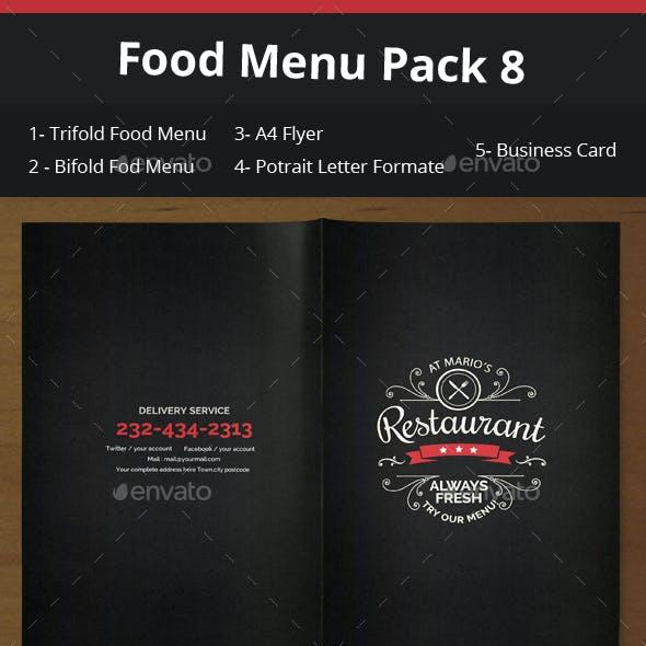 Food Menu Pack 8
