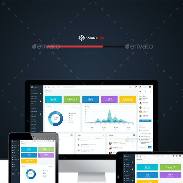 SmartBox – Admin Dashboard UI