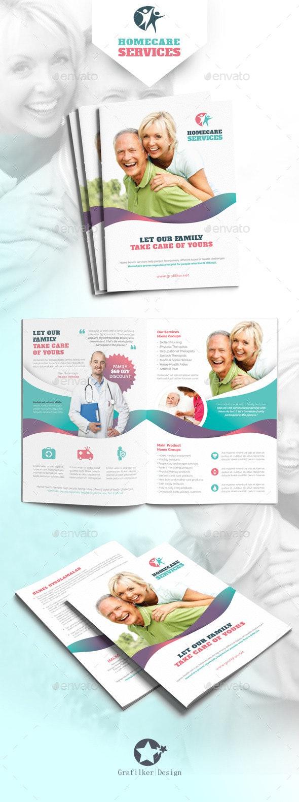 Home Care Brochure Templates - Corporate Brochures