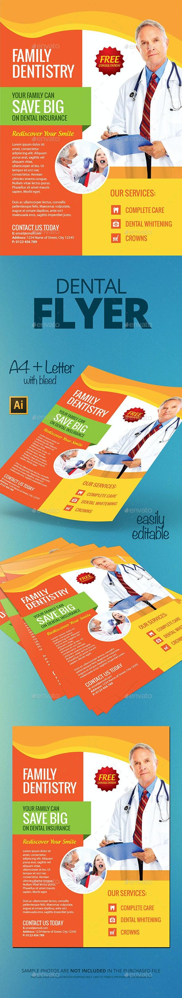Dental Flyer - Flyers Print Templates